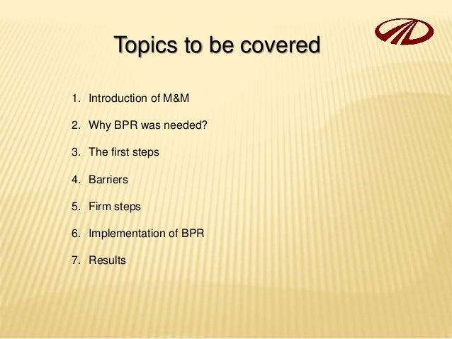 case study mahindra bpr