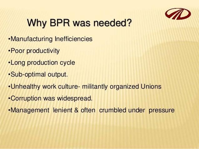 Business Process Re Engineering Of Mahindra Amp Mahindra
