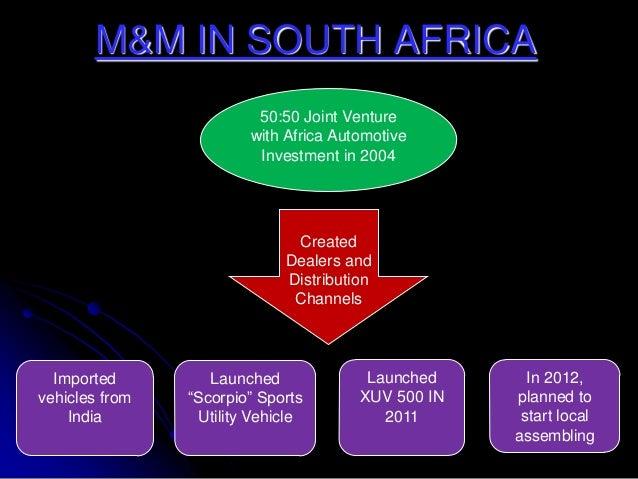 mahindra mahindra in south africa essay Its global subsidiaries include mahindra europe srl based in italy, mahindra  usa inc, mahindra south africa and mahindra (china) tractor co.