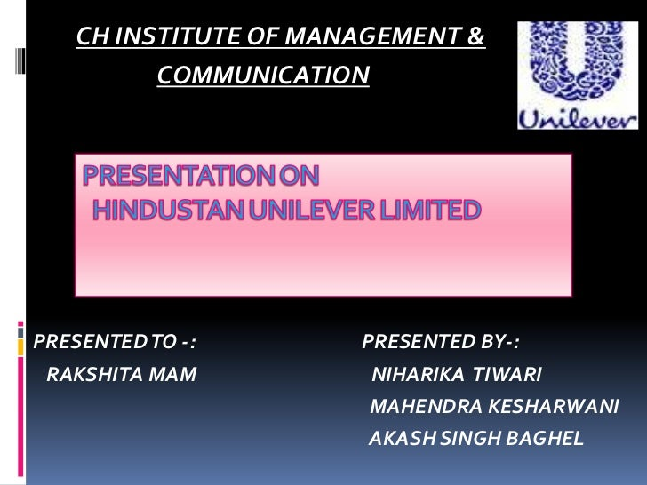 CH INSTITUTE OF MANAGEMENT &         COMMUNICATIONPRESENTED TO -:       PRESENTED BY-: RAKSHITA MAM          NIHARIKA TIWA...
