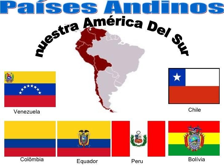 Venezuela                     Chile  Colômbia   Equador   Peru   Bolívia