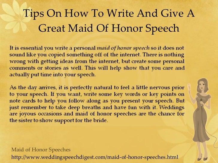 Making A Toast Speech