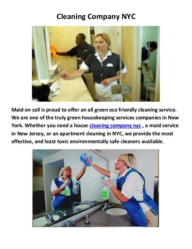 Maid On Call Cleaning Company in NYC