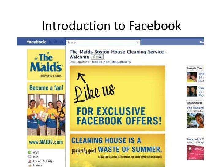 Introduction to Facebook<br />