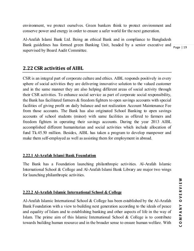 internship report on social islami bank limited of bangladesh View cover page from bba bus-477 at asa university bangladesh internship report on islami bank bangladesh limited topic general banking, investment mode & foreign exchange of islami bank bangladesh.