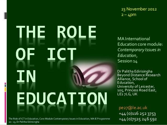 23 November 2012                                                                                                2 – 4pm   ...