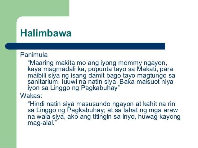 Ang iba't ibang Uri ng Salaysay