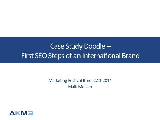 A case study of international brand