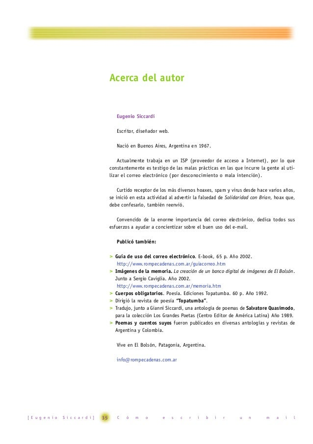 Acerca de Rompecadenas  Creado por Eugenio Siccardi en diciembre del año 2000, Rompecadenas es un sitio web destinado a or...