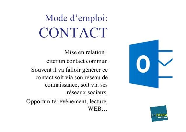 mail accompagnement et message via facebook  sms et linkedin