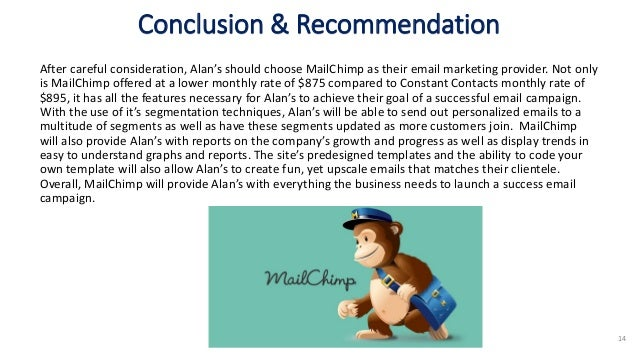 mailchimp vs constant contact which email marketing service is