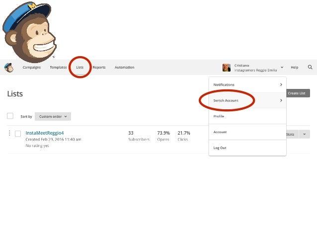 Integrare WordPress e MailChimp
