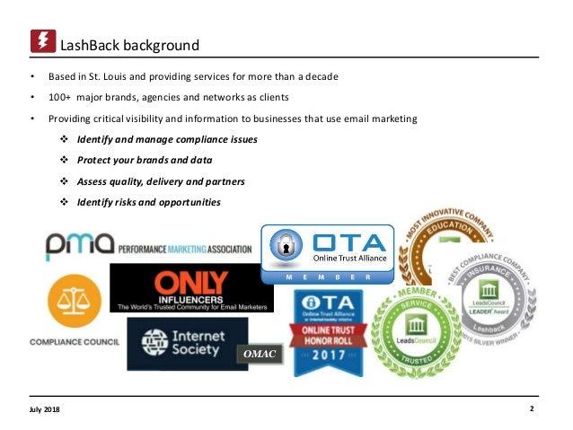 LashBack Presentation at Mailcon July 2018 Slide 2