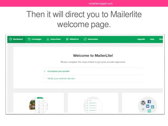 Tutorial on how to use Mailertite (Part1)- How to Setup Mailerlite a…