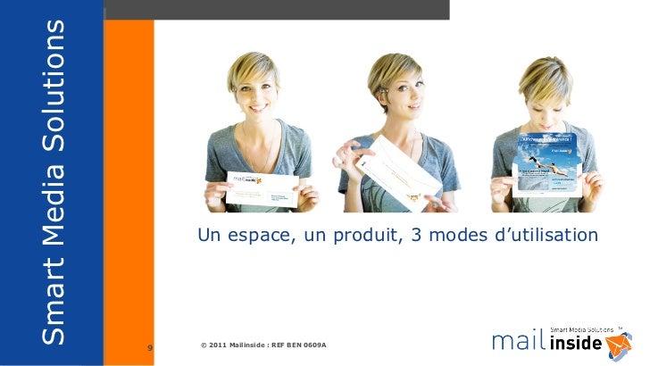 Un espace, un produit, 3 modes d'utilisation