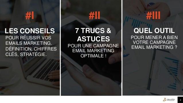 L'email marketing – Les bonnes pratiques  Slide 2