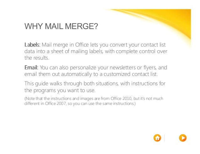 mail merge made easy