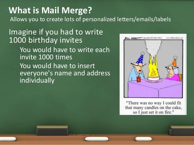 Using mail merge in microsoft word by sabrina mahmood address individually 5 what are the benefits of mail merge stopboris Image collections