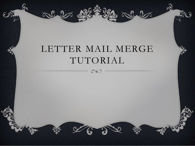 Create labels using mail merge: label envelopes « mail merge.
