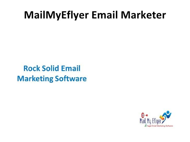 MailMyEflyer Email Marketer