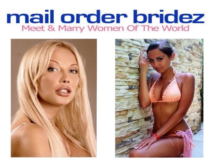 Mail order bride info