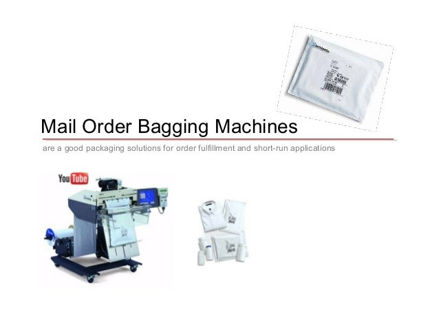 Mail Order Fulfillment Packaging Equipment
