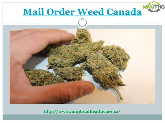 how to order weed in canada
