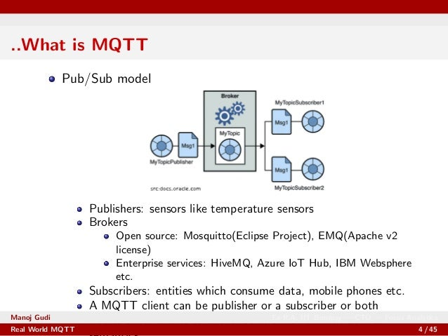 Real World Applications of MQTT