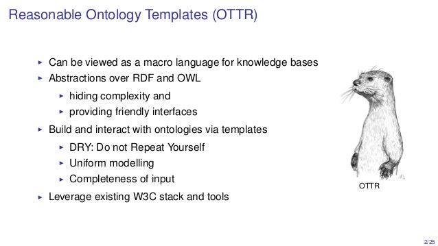 Programming semantics: practical applications of OTTR Slide 2
