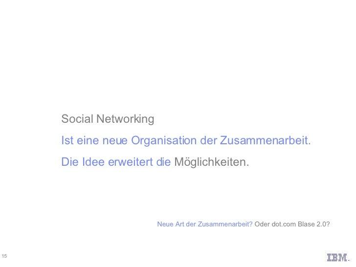 Social Networking Ist eine neue Organisation der Zusammenarbeit. Die Idee erweitert die  Möglichkeiten. Neue Art der Zusam...
