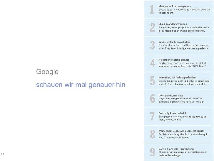 Google schauen wir mal genauer hin