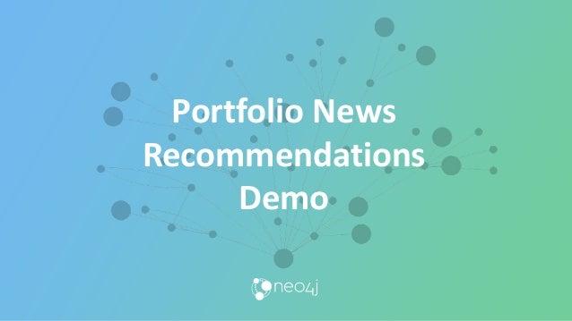 Portfolio News Recommendations Demo