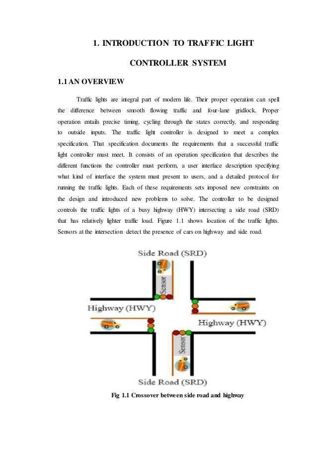 thesis control system Performance comparison of cpld and pld based traffic light control system a thesis submitted to the department of computer science and engineering.