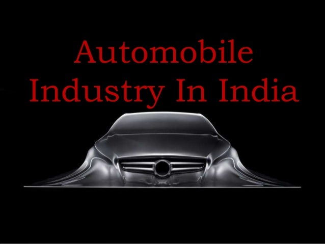 Automobile Industry In India