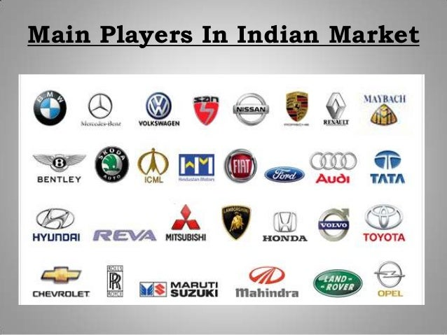Main Players In Indian Market
