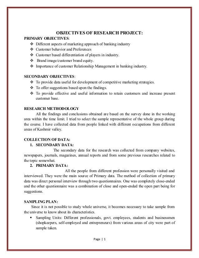 Objectives of customer relationship management essays