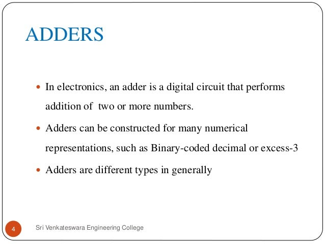 designing of different types of multipliers A binary multiplier is an electronic circuit used in digital electronics, such as a  computer,  at the university of manchester, where he worked on the design of  the hardware multiplier for the early mark 1 computer  it became possible to put  enough adders on a single chip to sum all the partial products at once, rather  than.
