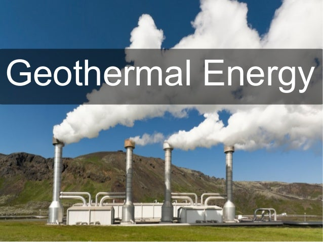 Is Geothermal A Natural Resource