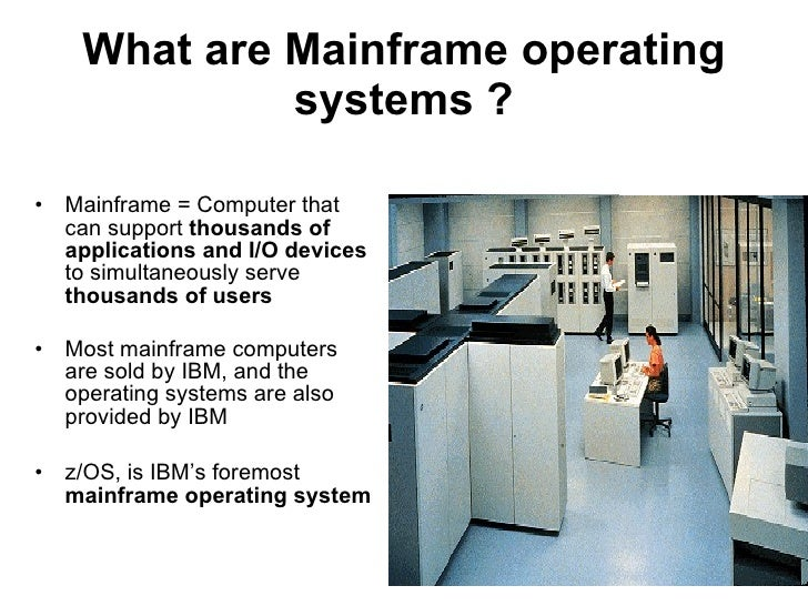 what is the mainframe hardware relationship with scalability