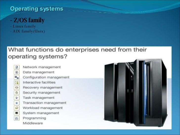 Mainframe Architecture Amp Product Overview