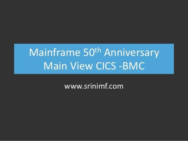 mainframe 50th anniversary