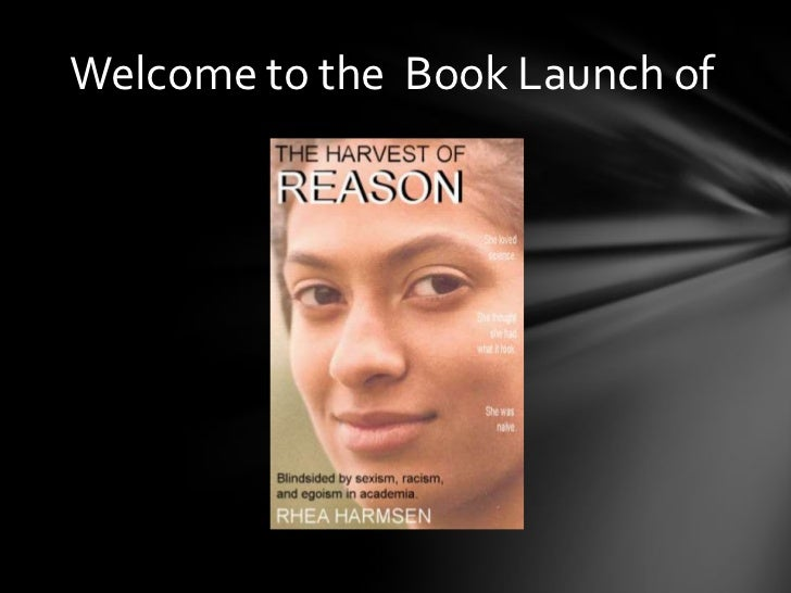 Welcome to the  Book Launch of<br />