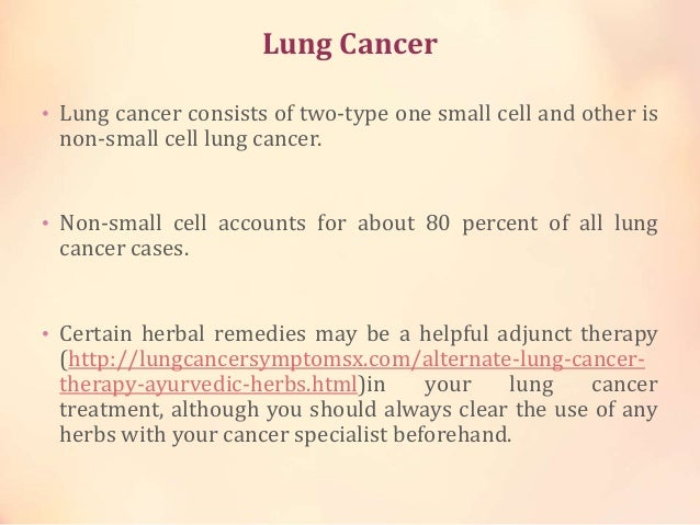 the main features of lung cancer 3-11-2017 stage main features and types of lung cancer iiia lung cancer is the most common type of lung cancer in women and.