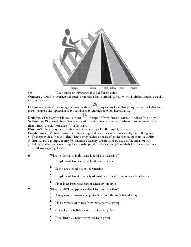 Main idea and supporting details practice exercise – Supporting Details Worksheet