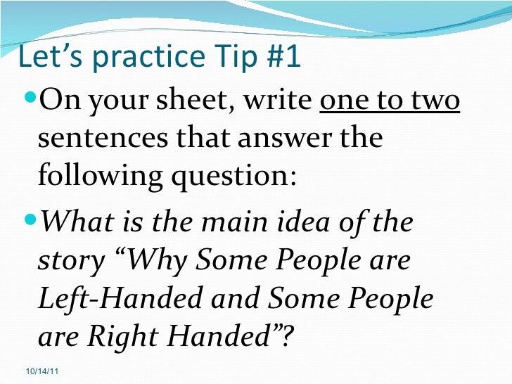 Main idea and theme – Main Idea Worksheets High School