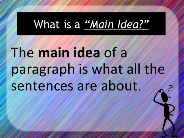 Main idea and supporting details powerpoint lesson and notes | tpt.