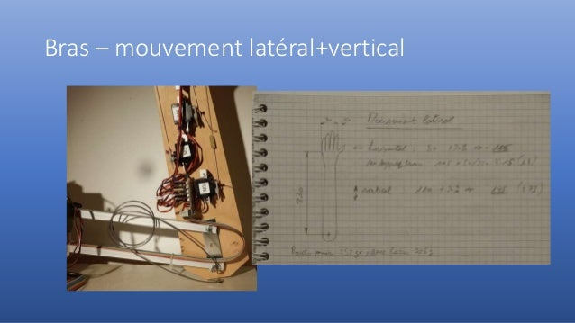 Bras – mouvement latéral+vertical