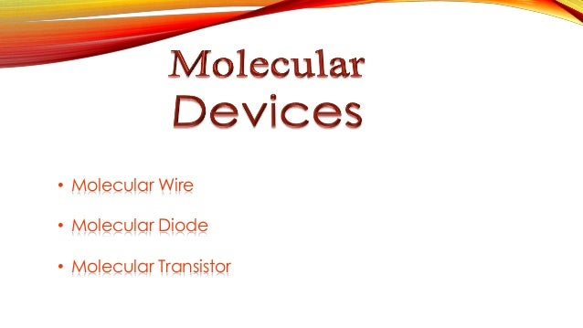 Mark ratners concepts of molecular electronics
