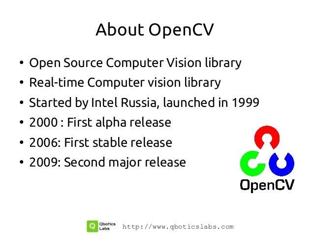 OpenCV Workshop Slide 2