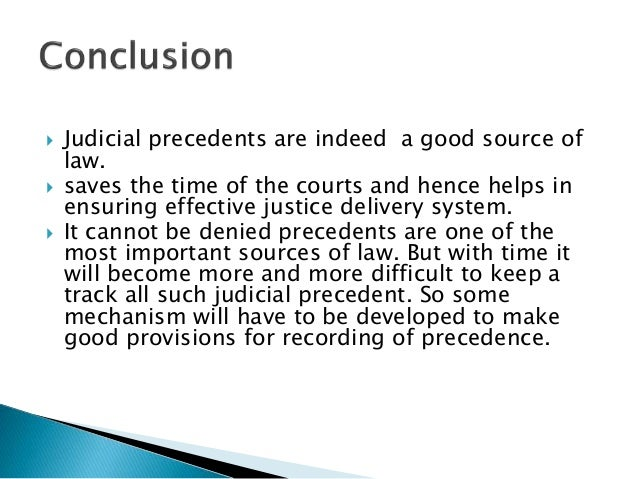 what is a precedent law